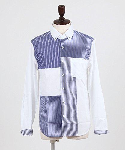 (エイチヴィシー) HVC / ブロードSTブロッキングシャツ