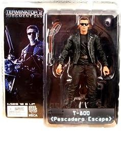 """Neca - Terminator 2 - Série 2 - Action Figure T-800 """"Machine Gun"""" - 18"""