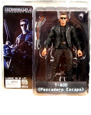 NECA Terminator 2: Judgement Day 7 Inch Series 1 Action Figure T-800 Pescadero Escape