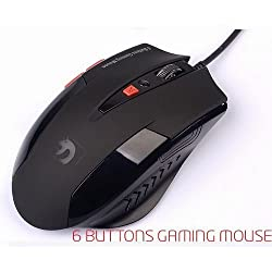 ECVISION NEW 7D XinMeng Mamba 2000dpi 6Buttons X4 Optical Gaming Mouse