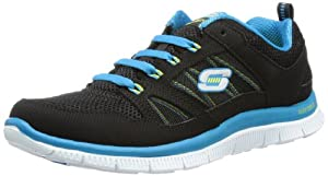 Skechers Damen Laufschuhe Flex Appeal - Spring Fever 11727 38.5 Black/Blue