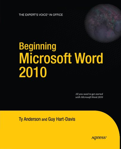 Beginning Microsoft Word 2010 (Expert'S Voice In Office)