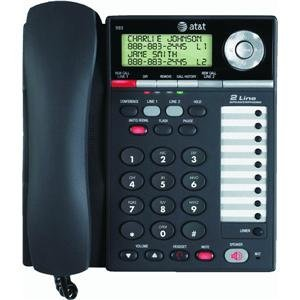 AT&T 993 Corded Phone, Black, 1 Handset