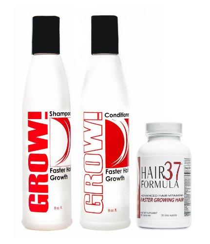 Advanced Hair Growth Vitamins Hair Formula 37 for Faster Growing Hair