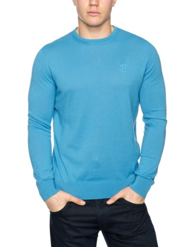 Henri Lloyd Aluna Crew Knit Men's Jumper Bleu X-Large