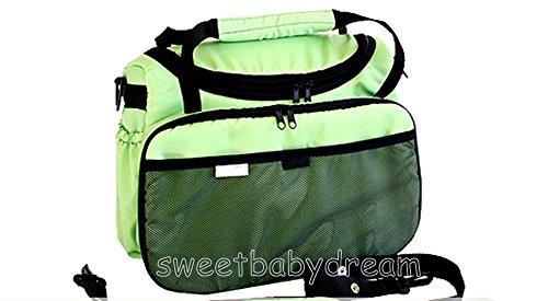 Wickeltasche Kinderwagentasche für Kinderwagen / Buggy etc. NEU Tasche Baby/(Pistazie) Picture