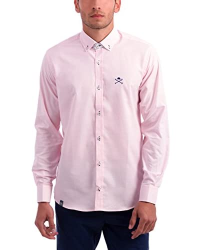 Polo Club Camisa Hombre Verona Rosa