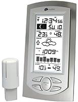 La Crosse Technology WS 9032 Station Météo Aluminium/Transparent