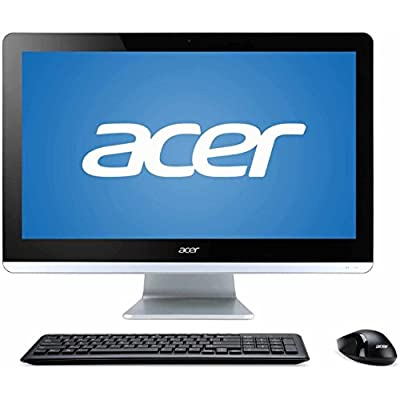 Newest Acer Aspire 19.5 Inch All-in-One Premium Flagship Desktop Computer (Intel Celeron N3150 Quad-core up to 2.08 GHz Processor, 4GB RAM, 500GB HDD, Windows 10 Home 64Bit) (Certified Refurbished)