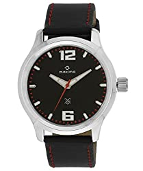 Maxima Attivo Analog Black Dial Mens Watch - 24052LMGI