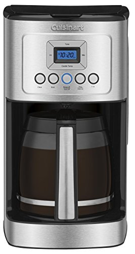 Cuisinart DCC-3200 Perfect Temp 14-Cup Programmable Coffeemaker, Stainless Steel (Thermal 4 Cup Coffee Maker compare prices)