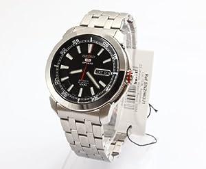 Seiko - Reloj de pulsera hombre, acero inoxidable, color plateado