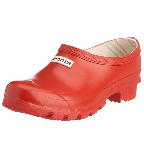 Hunter Unisex Original Clog WelliesRed