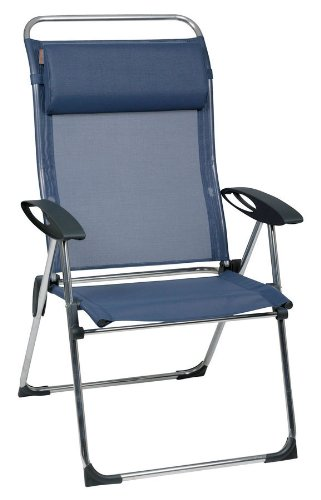 Lafuma Collapsible chair CHAM'ELIPS XL with Batyline (cover: blue)