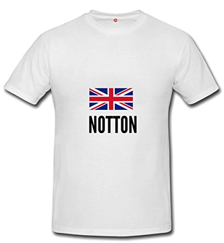 T-shirt Notton city white