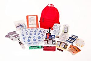 2 Person Deluxe Survival Kit Perfect for Earthquake, Evacuation, Emergency Disaster... by Survival Prep Warehouse