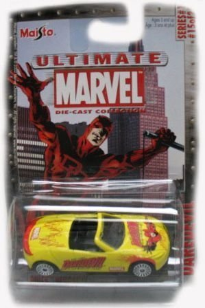 Marvel Ultimate Die-Cast 1:64 Daredevil Buick Bengal Die-Cast Car - 1