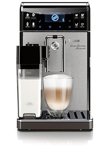HD8967/01 GranBaristo Avanti Kaffeevollautomat, Appsteuerung, integrierte Milchkaraffe, silber