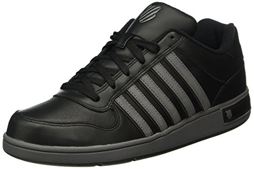 K-Swiss Herren Thelen Sneakers, Schwarz (Black/Charcoal/Beluga), 44 EU thumbnail