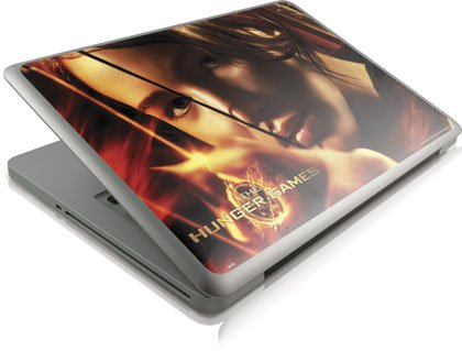 Skinit The Hunger Game -Katniss Bow & Arrow Vinyl Laptop Skin for Apple MacBook Pro 13