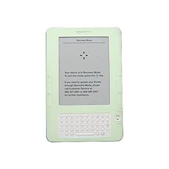 Amazon Kindle 2 (2nd Generation) Silicone (GREEN) Skin Cover Case