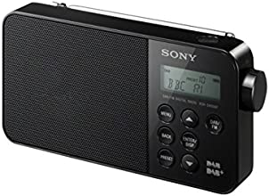 Sony XDR-S40 DAB/DAB+/FM Ultra Compact Digital Radio - Black