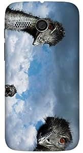 Beautiful multicolor printed protective REBEL mobile back cover for Motorola Moto G (2014) 1st Gen D.No.N-L-17648-MG1