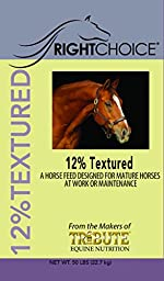 Kalmbach Feeds Right Choice Textured 12 for Horse, 50 lb