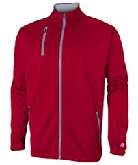 Russell Athletic Men's Technical Performance Fleece Full Zip Cadet