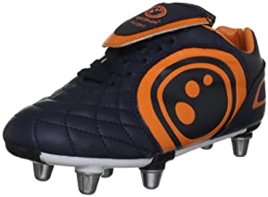 Optimum Boy's Eclipse Rugby Chaussures de rugby Junior Marine/Orange 20