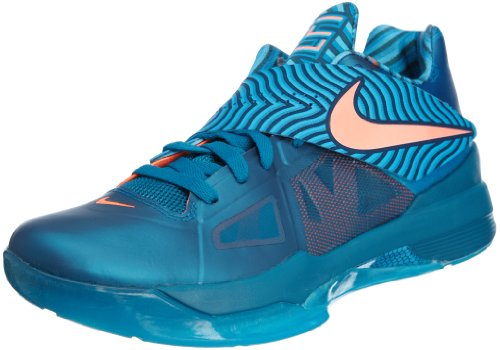 Nike Zoom KD IV (Year Of The Dragon) - Green Abyss / Bright Mango-Blue, 8.5 D US