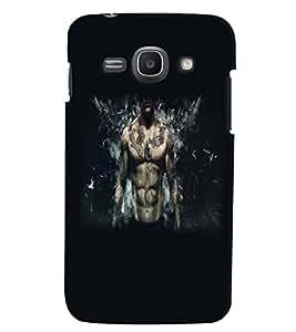 PrintVisa Cool Boy Tattoo 3D Hard Polycarbonate Designer Back Case Cover for Samsung Galaxy Ace 3