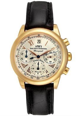 Swiss Watch International Men's Limited Edition Watch A7208.GSA1