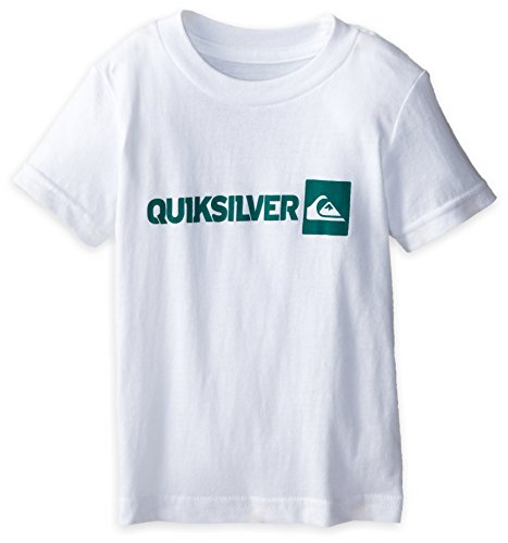 Quiksilver Baby-Boys Infant Quik Vert Tee White, White, 12 Months