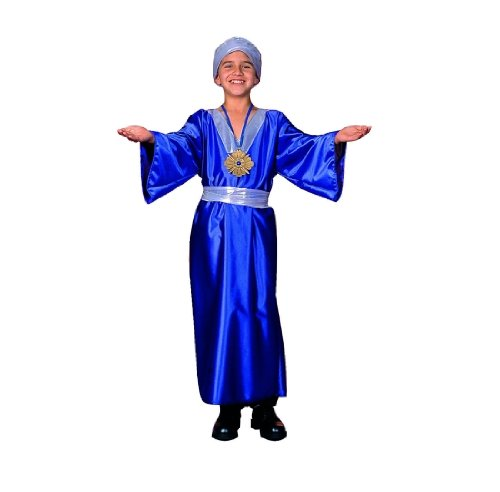 Child's Blue Wiseman Biblical Costume (Small 4-6)