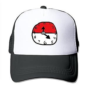 Funny Pokeball Time Trucker Hat Baseball Cap For Men Women (5 Colors)