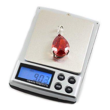 Xcellent Global 0.1g x 1000g Mini balance de poche électronique numérique M-HG005