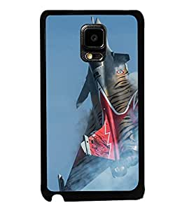 printtech Indian Tiger Jet Plane Back Case Cover for Samsung Galaxy Note i9220::Samsung Galaxy Note 1 N7000