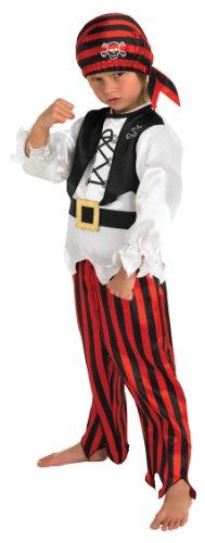 Rubie's - Costume da pirata, taglia: 5-6 anni (M)