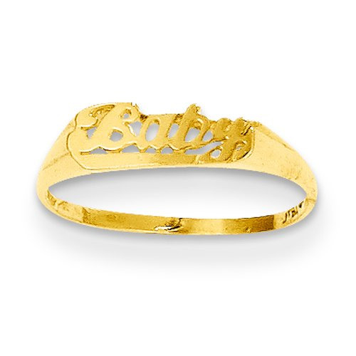 14k Yellow Gold Madi K. Baby Ring