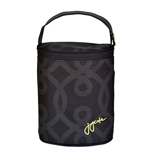 JJ Cole Bottle Cooler, Black and Gold - 1