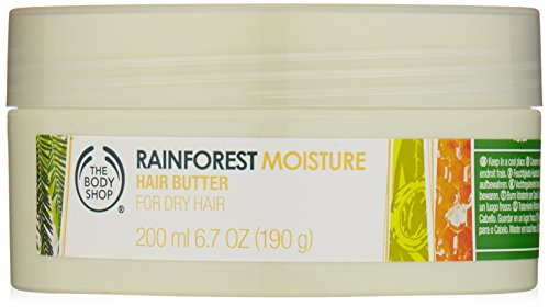 The Body Shop Rainforest Moisture Hair Butter, Regular, 6.7 Ounce (The Body Shop Condition For Hair compare prices)
