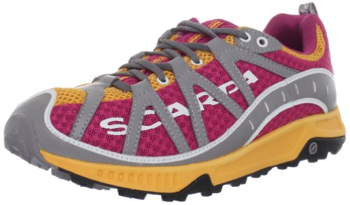 Scarpa Women's Spark Trail Running Shoe,Lip Gloss/Orange,42 EU/10 M US