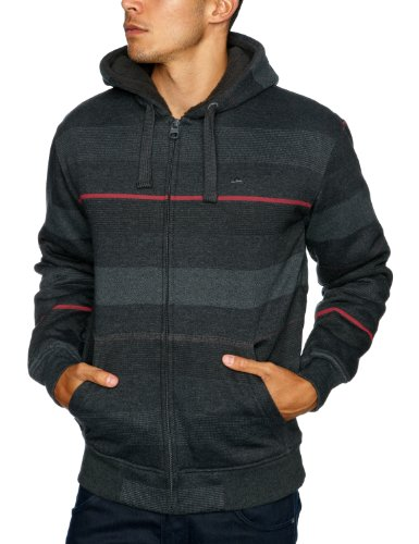 Quiksilver Aloha-KPMSW073 Men's Sweatshirt Dark Grey Heath Small