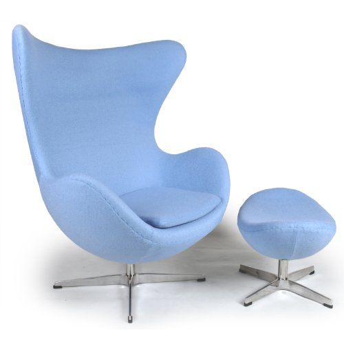 cheap egg chair cheap egg chair ottoman baby blue boucle cashmere wool. Black Bedroom Furniture Sets. Home Design Ideas