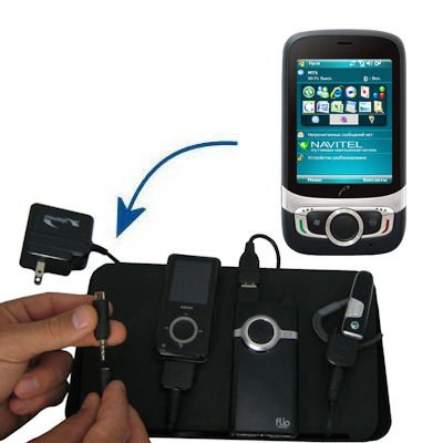 Gomadic Advanced Nokia X7 4-port Charging Station - Uses TipExchange Technology to charge up to four devices simultaneously
