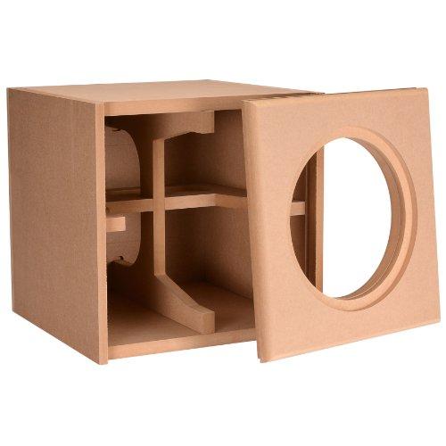 """Knock-Down Mdf 1.0 Ft³ Subwoofer Cabinet For Dayton Audio 10"""" Reference Series Ho Subwoofer"""