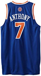 NBA New York Knicks Blue Swingman Jersey Carmelo Anthony #7 by adidas