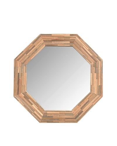Jeffan Large Rosario Wood-Framed Mirror