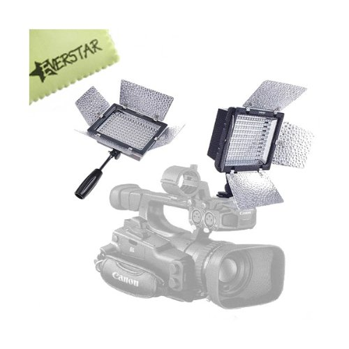 Yongnuo Yn-160 160 Led Camera Video Light With Remote For Canon , Nikon , Samsung , Olympus , Jvc , Pentax Cameras And Camcorders